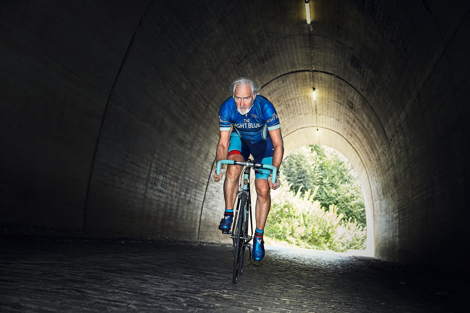 The Light Blue Cycles UK, Model: Richard Pratt, Ricci Sports
